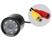 auto security light - E328 CMOS NTSC LED Car Auto Rearview Rear View Reversing Flush Backup Day Night Vision Parking Park Light Security Cameras TVL
