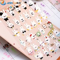 Wholesale Pack Diy Wall Sticker Poster South Korea Sent Straight Funny Planar Decorative Stickers Diary Playtime