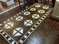 Wholesale Profiled wood flooring Asian pear SapeleMerbauSapele wood floor Wood wax wood floor Wood wax floor Wings Wood Flooring