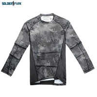 Wholesale Tactical Chiefs Rattlesnake Camouflage Moisture wicking Long sleeve T shirt Python For Men Outdoor Camping Hunting Sports Wear order lt no t