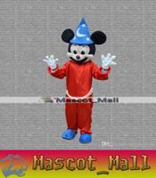 Disfraces MALL11 personalizada Navidad Frozen Red de Mickey Mouse de la mascota de Halloween Rendimiento Pascua Anime Animal adultos Carnaval