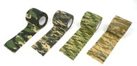 Wholesale mix color adhesive bandage Wrap elastic Army Camo Rifle hunting camouflage cohesive tape m