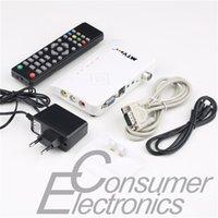 Cheap 1set Digital TV Box LCD CRT VGA AV Stick Tuner Box View Receiver Converter DropShipping!