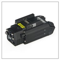 Nouvelle arrivée DBAL-PL lampe de poche avec laser rouge et IR Illuminateur avec une bonne qualité pour Outing Chasse Livraison gratuite CL15-0087
