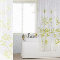Wholesale New Butterfly Tree PEVA Bathroom Waterproof Fabric Shower Curtain With Hooks Hot Sale