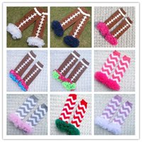 fluffies - 2015 Leg Warmer Baby Tight Leg Warmers Fluffies Chiffon Ruffle Football Lace warmers for Baby Girls Kids Ruffled Leggings Colors B3698