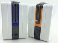 Wholesale Portable Negative Ion Air Purifier Ozonator Air Cleaner Oxygen Bar Purify Air Kill Bacteria Virus Ionizer Send Universal Plug A3