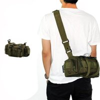 Wholesale Nylon Molle Tactical Military Bags Army Green D Waterproof Utility Outdoor Bags for Hunting Unique Design Hot Sale OT0005
