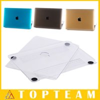 Wholesale High Quality Crystal Cases For Apple Macbook inch Skin Hard PC Protective Cover Shell Colors Optional