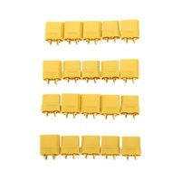 banana plugs gold set - 10 Pairs Original XT90 Battery Connector Set mm Male Female Gold Plated Banana Plug order lt no track