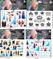 Wholesale Big Hero Stickers Cartoon Frozen Minions Temporary Tattoos Sticker cmx10 cm Body Tatoo For Children Factory DHL Free