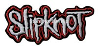 band patches - 4 quot SlipKnot Logo Music Band Embroidered IRON ON and SEW ON Patch Rock Punk Heavy Metal Custom design patch available