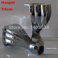 Wholesale 2pcs Metal Furniture Cabinet Tea Table Sofa Leg Feet quot mm Height