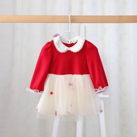 ball ideas - Idea Spring New Baby Girl Dresses Kids peter pan collar Ball Gauze Long Sleeve Princess Dresses y