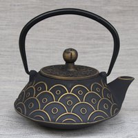 antique japanese teapots - Manufacturers Yu Wen antique teapot Japanese cast iron teapot kettle old iron kettle pot tea upscale health