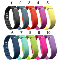 Wholesale 2015 New Replacement Fitbit Flex Wireless Band Activity Bracelet Wristband With Clasp Not Include Tracker DHL OTH139
