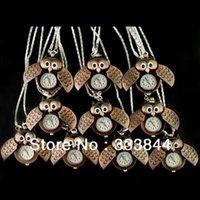arinna necklace - Hot Sale Cute Fashion Good OWL Necklace Pocket Pendant Quartz Watch A2 order lt no track