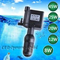 air powered water pump - 8W W high power air pump Super pump air compressor for aquarium Super aquarium internal filter Super water circulating