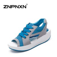 Wholesale New women sandals Open toe sandalias platform shoes woman summer beach slippers G17