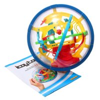 Wholesale New D Magic Intellect Maze Ball Kids Children Balance Logic Ability Puzzle Game Educational Training Tools order lt no track