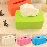 adjustable toilet seats - Home car Tissue Box plastic napkin holder tissue paper storage box accessories porta guardanapo toilet paper holder adjustable