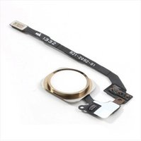 Wholesale Home Menu Button Key Return Flex Cable Ribbon Assembly Repair part for iPhone S pc