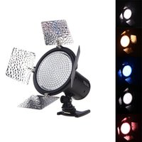 Wholesale 2014 New YONGNUO YN216 LED Video Light Camera Shoot with Color Plates for Canon Nikon DSLR Camera A3