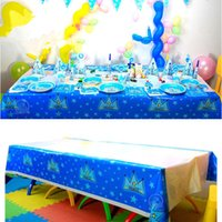 Wholesale Tableware Decoration For Kids Brithday Party cm cm Plastic Tablecover Table Cloth Cover Wedding Events