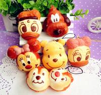 Wholesale wholesales kawaii new cartoon animal re ment squishy charm