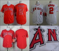 angels baseball uniform - Erick Aybar Jersey Los Angeles Angels Cool Base Uniforms White Red