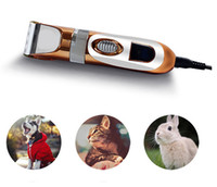 Wholesale W V Voltage Professional AC Electric Dog Cat Hair Trimmer Pet Fur Cutting Machine Styling Tools Animal Hair Clippers