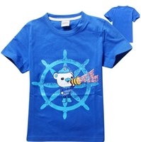 Wholesale High Quality Cute Summer Cartoon The Octonauts Short Sleeve Children s t shirt kids clothing Boys T Shirts Fit years