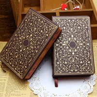 Wholesale Vintage Hardcover Notebook Aladdin Diary Exotic Stationery For Journal Writing Notepad Notebooks School Supplies