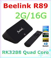 Cheap Quad Core XMBC13.1 IPTV BOX Best Included 1080P (Full-HD) Beelink R89 TV Box