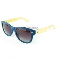 wood eyewear - Hot Sell Wood Sunglasses Designer Natrual Bamboo Sunglass Eyewear Glasses Style Hand Made Wooden Temples
