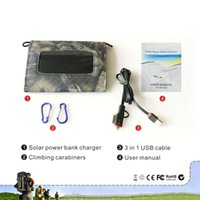 bettery charger - Christmas gift for Walking and Hiking Lovers Suspension type Folding Solar Panel Charger For Mobile Phone IPAD Iphone Bettery Charging