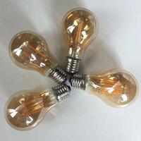 Wholesale Dimmable LED Bulbs W W W W Warm White K V VAC E26 E27 B22 Base Surface gold warmer light