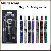 Cheap Top quality Snoop Dogg Dry Herb Vaporizer Bister kit Pack 7 Colors Wax Herbal VAPORIZER Kit