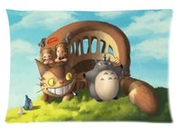 best hospital beds - Soft Home Decor Bed Sofa Throw Pillow Case New my neighbour totoro Best Christmas Gift x30 inch sides