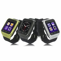 Wholesale S8 MTK6572 Dual Core Android Smart Watch Phone with GPS MP Camera Bluetooth Function