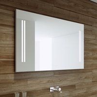 bathroom backlit mirror - LED bathroom mirror backlit mirror Gemini