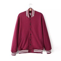 aa uniform - American apparel vintage hipster AA button coat loose over size thick baseball uniform jacket yy239