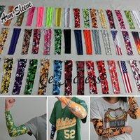 sport flags - drop shipping DHL shipping flag sleeve digital camo Compression Sports Arm Sleeve Moisture Wicking softball baseball