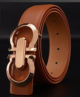 Wholesale 2015 Fashion brand Metal series smooth Buckle mens belts luxury leather belt European style belts for Men