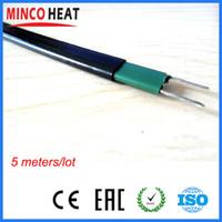 220V auto regulación de calentador de agua solar anticongelante tubo y tubería de la casa congelación calentamiento cable calefactor protección