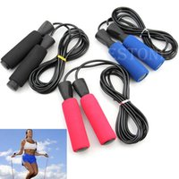 Wholesale New Aerobic Exercise Boxing Skipping Jump Rope Adjustable Bearing Speed Fitness order lt no track
