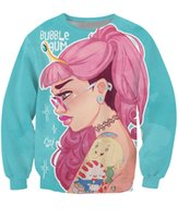 animate jumpers - Bubblegum Crewneck Sweatshirt Women Men d Princess Bubblegum Adventure Time animated series Fashion Sweat Casual Jumper Outfits