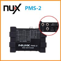 Wholesale NUX PMS Guitar Switcher MIDI Switcher Remote Control Devices Presets Lock Function Compact Portable