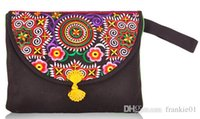 Wholesale canvas handbag for ipad embroidered personality bag for your ipad table PC best selling cheapest made in china