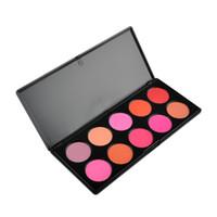 Wholesale 10Colors Blusher Palette Makeup Blush Professional Makeup Powder Blush Palette Makeup Blusher Cosmetic Blush Blusher Palette